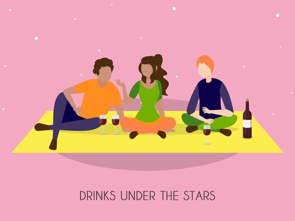 Drinks Under The Stars