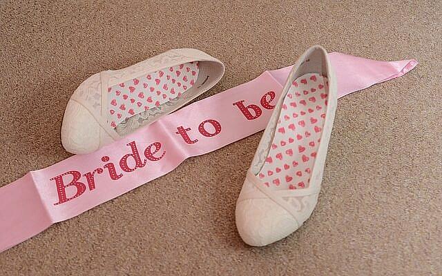 designer bridal shoe